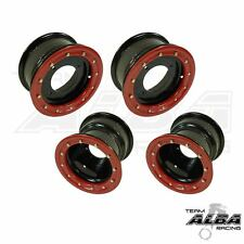 TRX 450R 400EX  Front and Rear wheels Beadlock 10x5 and 10x8 Alba Racing BR 41