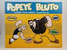 Mezco One:12 POPEYE and BLUTO Stormy Seas ahead BOX and INSERTS ONLY