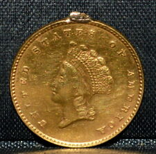 1854 $1 GOLD DOLLAR ✪ XF DETAILS ✪ EXTRA FINE TYPE 2 EX-JEWELRY L@@K ◢TRUSTED◣