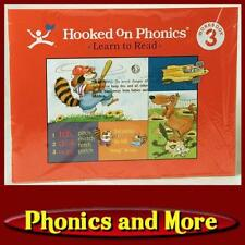HOOKED ON PHONICS (1998-NOW) Level 3: Red Workbook *Factory Sealed*