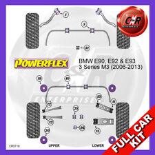 BMW E90 Série 3 M3 (2006-2013) Powerflex FULL KIT (Nº PFF5-4650 Supports moteurs)