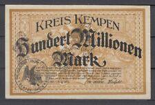 Kempen  -  Kreis  -  100 Millionen Mark  -  Buchst. A