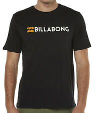 "BRAND NEW + TAG BILLABONG MENS (XXL) ""UNITY"" SURF T-SHIRT TEE BLACK CORE FIT"
