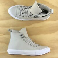 Womens Converse Chuck Taylor All Star WP Boot High Top Grey Shoes 557944C Sz 11