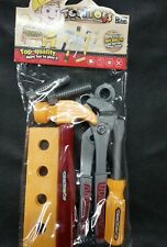 Kids 8pc Building Tool Toy Set Construction/Repair Plastic Sealed
