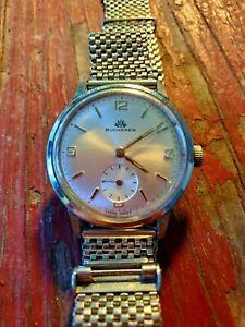Vintage Bucherer Men's Watch