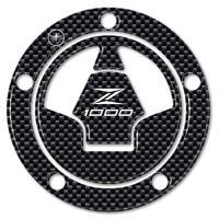 ADESIVO 3D CARBONIO PROTEZIONE TAPPO SERBATOIO compatibile MOTO KAWASAKI Z1000