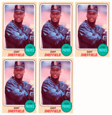 (5) 1993 Sports Cards #4 Gary Sheffield Baseball Card Lot San Diego Padres