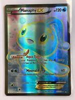 Manaphy EX FULL ART ULTRA RARE 116/122 Pokemon XY Breakpoint Holo NM