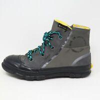 Converse Chuck Taylor MC18 Gore-Tex Boot High Grey Green Black Unisex Men Size 9
