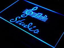 s001-b Studio On Air Music Bar Pub Neon Light Sign