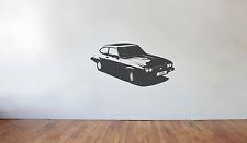 Ford Capri Wall Art Autocollant/Autocollant (Large) Injection Rétro Classique Années 70 années 80