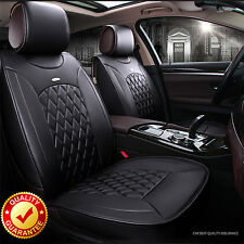 Black Leather Car Seat Cover Front Back For Mazda 3 Mazda 6 Mazda CX-3 CX-5 CX-7