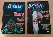 Batman A Death in the Family in Spanish