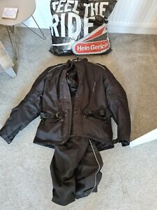 Hein Gericke gortex motorcycle jacket and trousers