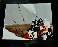 Moët & Chandon /America's Cup Perth 1987/affiche/Poster par Dominique Guillemard
