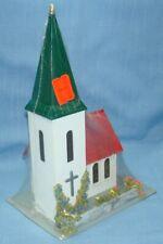 HOFFMANN MADE IN AUSTRIA #512 HO VILLAGE CHURCH STEEPLE BELL TOWER MODEL KIT Ol