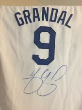 Yasmani Grandal Autographed Los Angeles Dodgers Jersey (White) With PSA/DNA COA