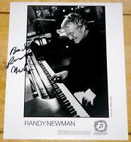 RANDY NEWMAN ~ HAND SIGNED AUTOGRAPHED 10x8 PHOTO STILL 3 ~ AUTHENTIC AUTOGRAPH