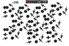 100x AFU1075 Land Rover Defender Wheel Arch Mud Spat Eyebrow Rivet Clips