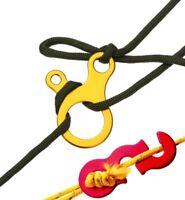Outil de Maintien Cordes Nœuds Rapide 3 Trous Nouage Boucles Air Tentes Noeud FR