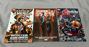 Winter Soldier Complete Collection (Rare) Captain America by Ed  Brubaker &