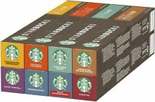 Starbucks Coffee Capsules Variety Mix Flavour Nespresso Compatible 80 Pods NEW