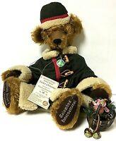 "Hermann Limited Edition Michele Brown Father Christmas 20"" Mohair Teddy Bear"
