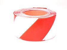 1x 500m Rolle Absperrband rot-weiß Flatterband Warnband Trassenband Signalband