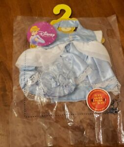 Build A Bear Disney Cinderella Princess Outfit Rare brand new in package