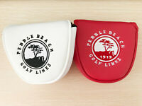 1x Golf Cover Mallet Headcover Blade Semi Cover Links Pebble beach Putter Gift
