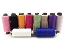 10 x Spools Assorted 100% Pure Cotton Sewing Thread Yards All Purpose Best Price
