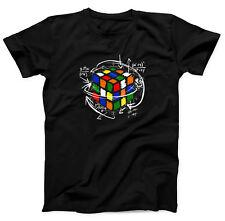 Zauberwürfel Shirt Sheldon Melting Cube Cooper 80er Kult T-Shirt Big Bang Geek