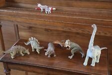 Papo Dinosaur Series with 6 figures (T-Rex, Brachiosaurus, Stegosaurus, Tricer..
