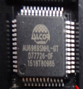 5 pcs New AU6989SNHL-GT ALCOR LQFP48 ic chip