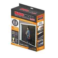 Single Car Garage Door Screen Mosquito Mesh Net Closure Insects 8-9X7 Brand New