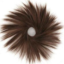 extension bollo de cabello coletero cobre de color marrón oscuro 21/31