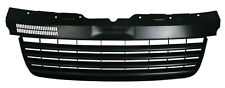 BLACK DEBADGED SPORTS BONNET GRILL FOR VW T5 7J / 7H 2003-2009 BUS TRANSPORTER