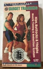 NEW Tony Little Target Training: Hips Buttocks Thighs Reduction System VHS 1993
