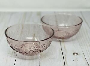 The Pioneer Women Prep Bowls Rose Tinted set of Two 15 oz New