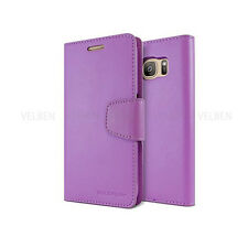 Double Card Flip Pocket Wallet Leather Book Case Cover For iPhone Galaxy S8 LG