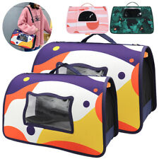 Small Dog Cat Carrier Poratble Pet Travel Sling Shoulder Bag Soft-Sided Crate