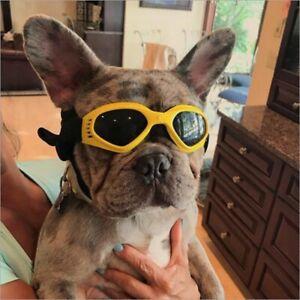 Medium Dog Sunglasses UV Protection Goggles Eye Wear Protection Adjustable Strap