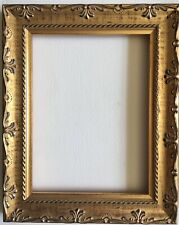 "Picture Frame Gold Finish Wood 6""x 8"""