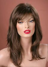 Forever Young Light Brown Long Face Framing Wig UK Fashion Wigs