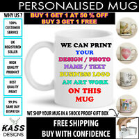 Personalised Mug Tea Coffee Cup Name Funny Novelty Sports Logo Design Ideal Gift