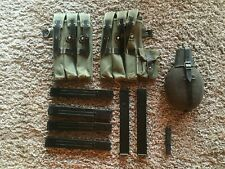 Airsoft MP40 magazines and ammunition pouches