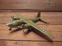 Vintage Custom Built Plastic Model Airplane - GREAT DETAIL!