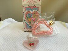 Vintage 1991 Avon Heart Drops Cologne Pendant - .07 Fl Oz