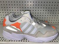 Adidas Originals Yung 96 Mens Athletic Running Shoes Size 8 White Orange